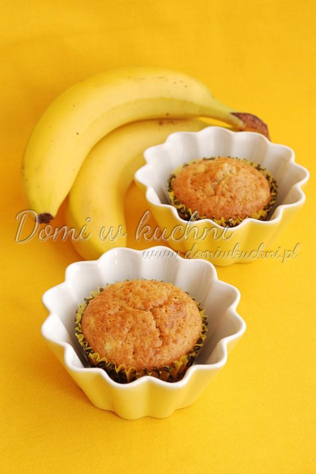 Jogurtowe muffinki z bananem