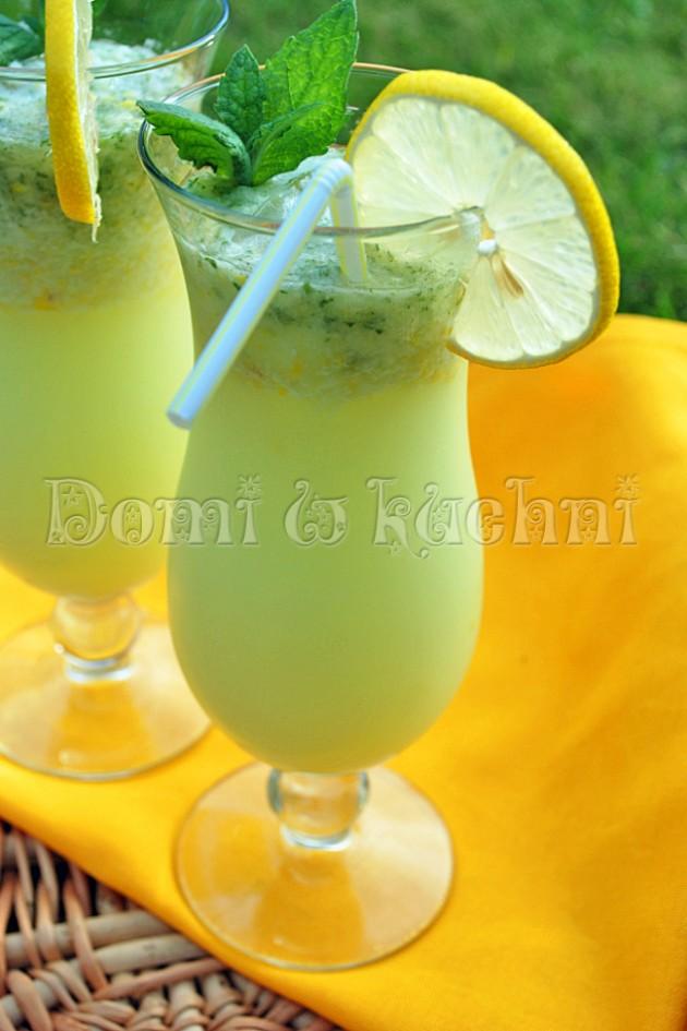 Lemoniada z miętą