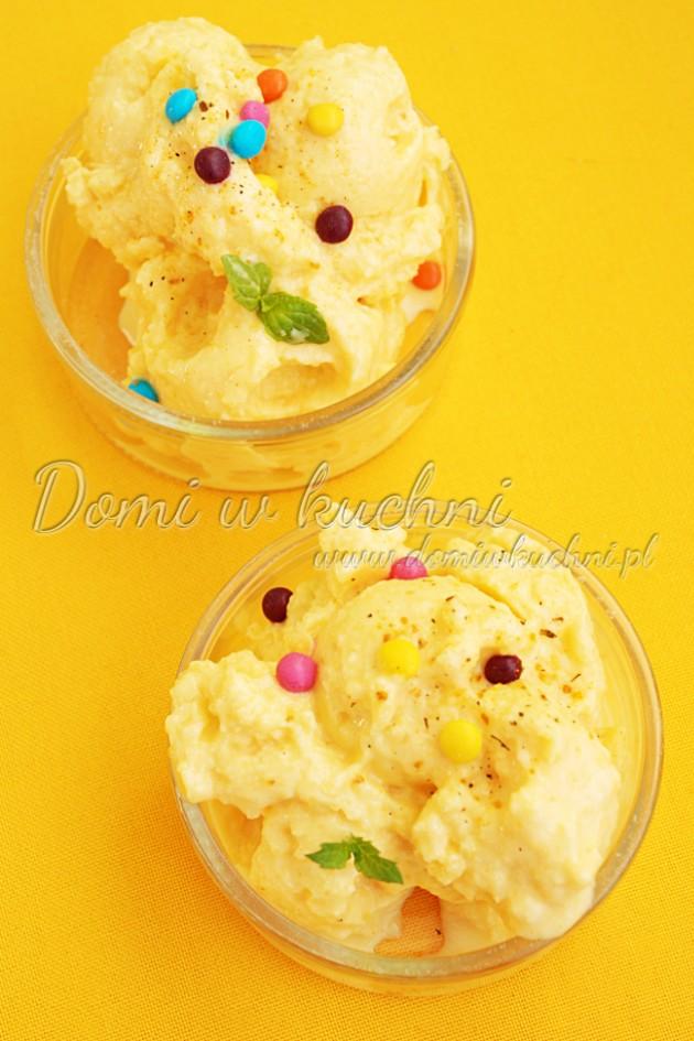 Jogurtowe lody z mango