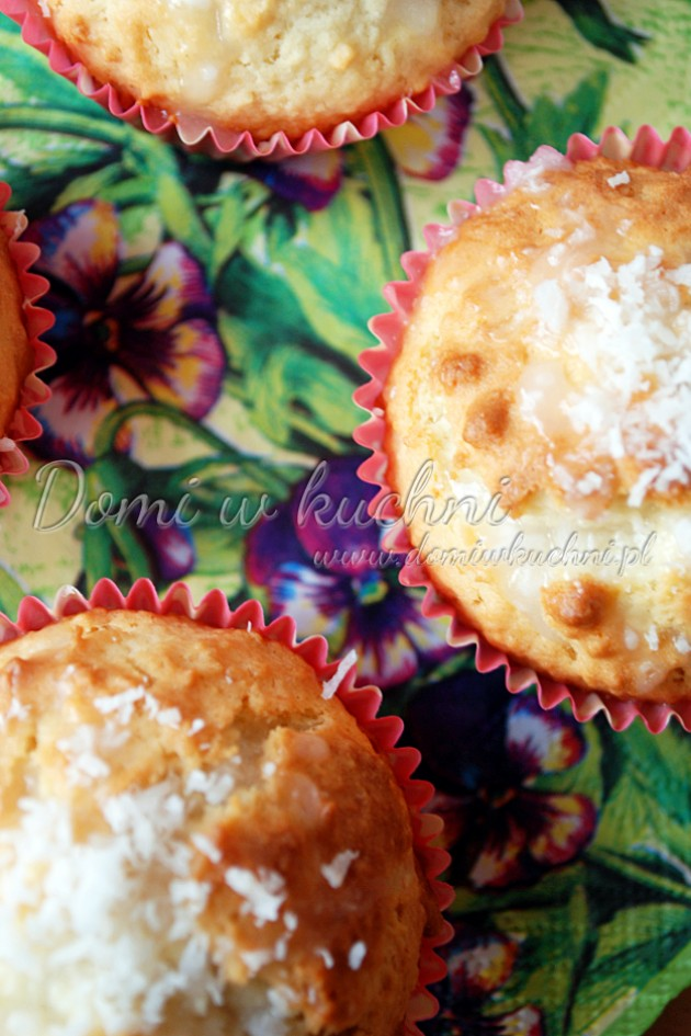 Muffiny o smaku Raffaello