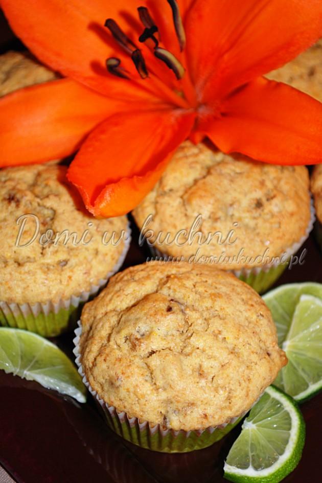 Muffiny pomarańczowe z figami