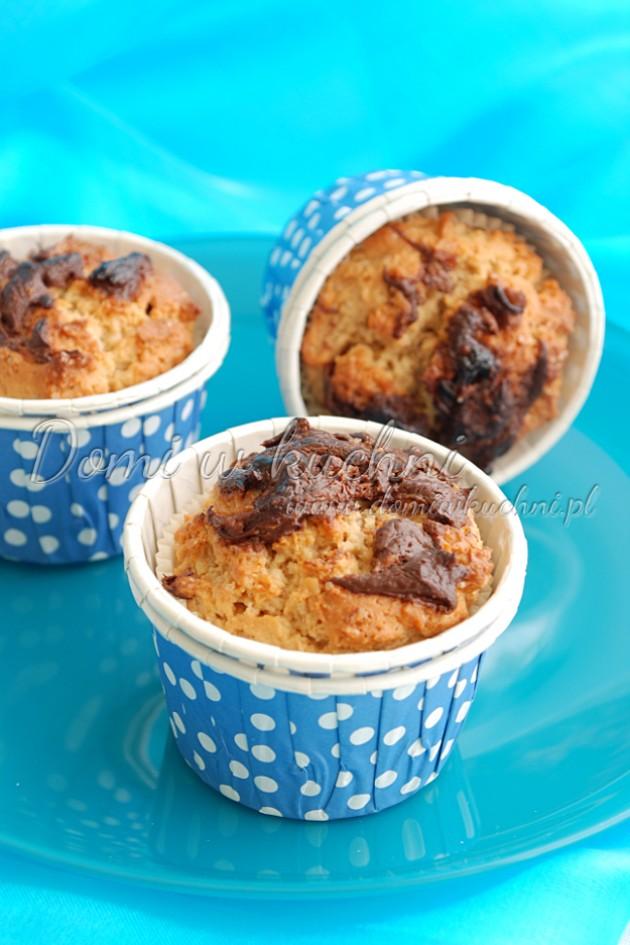 Muffiny z Nutellą