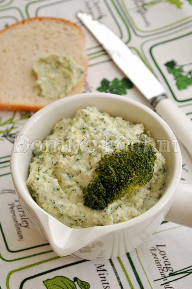 Pasta z brokuła i sera feta