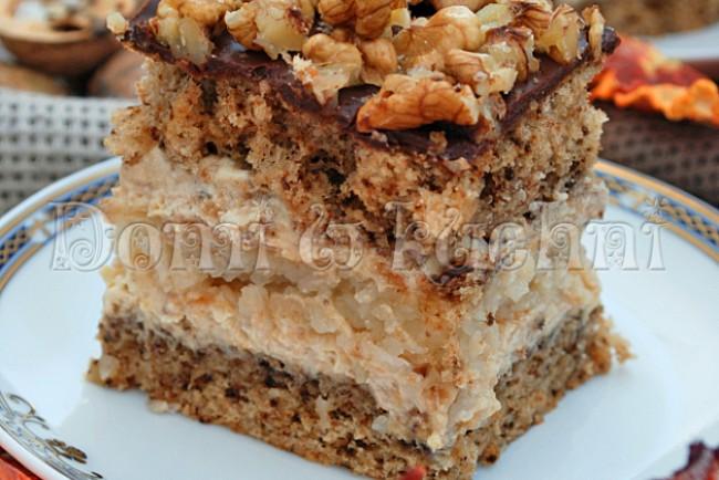 Tort Orzechowo Kokosowy Domi W Kuchni