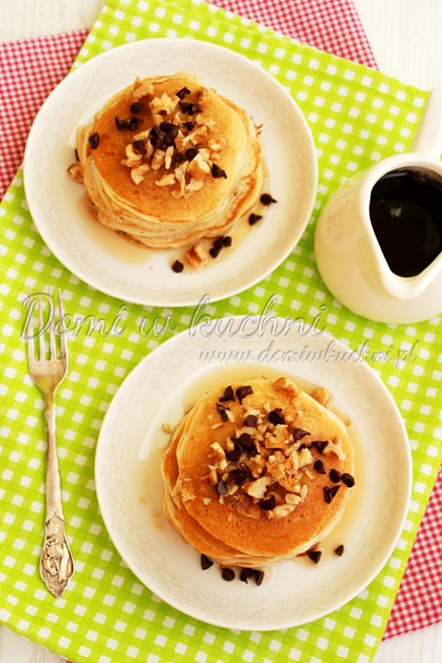 Bananowe pancakesy