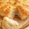 Czosnkowo-serowy odrywany chlebek