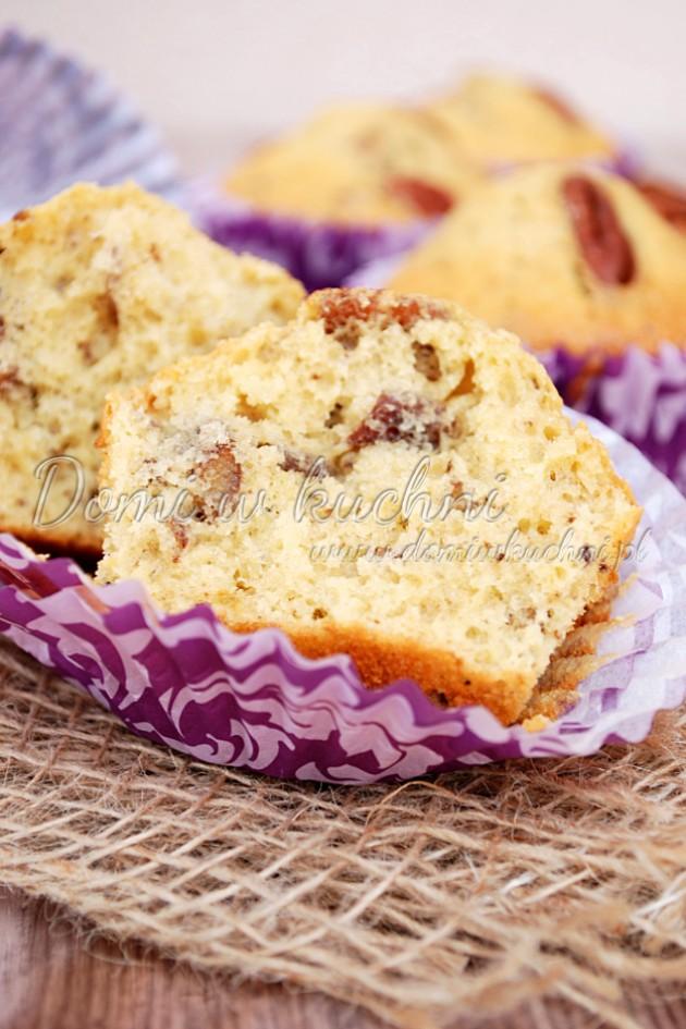 Muffiny z pekanami