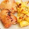 Miodowy kurczak z rozmarynem