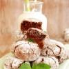 Miętowe ciastka czekoladowe