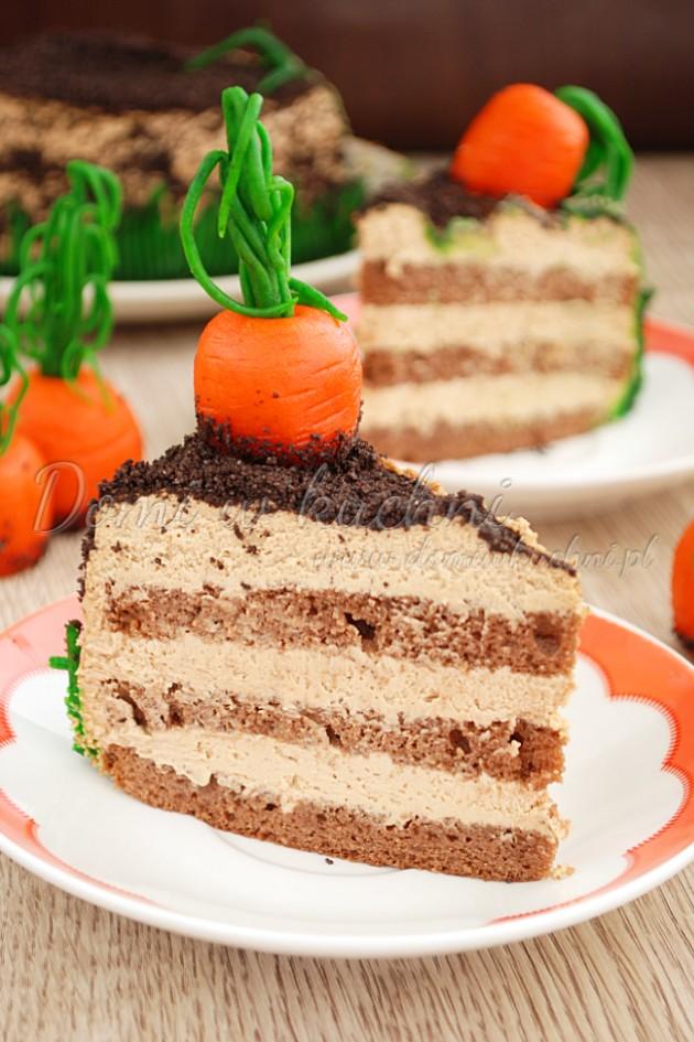 Tort czekoladowo-kawowy