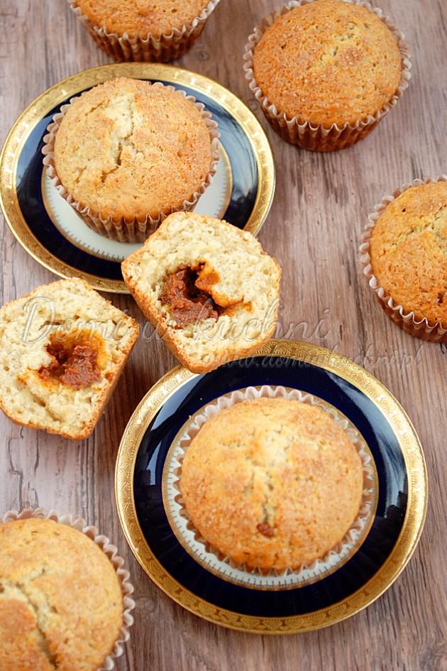Muffiny z kajmakiem