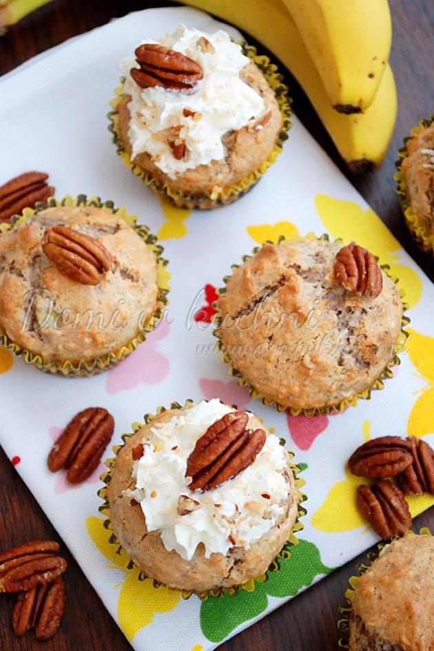 Muffiny bananowo-kokosowe