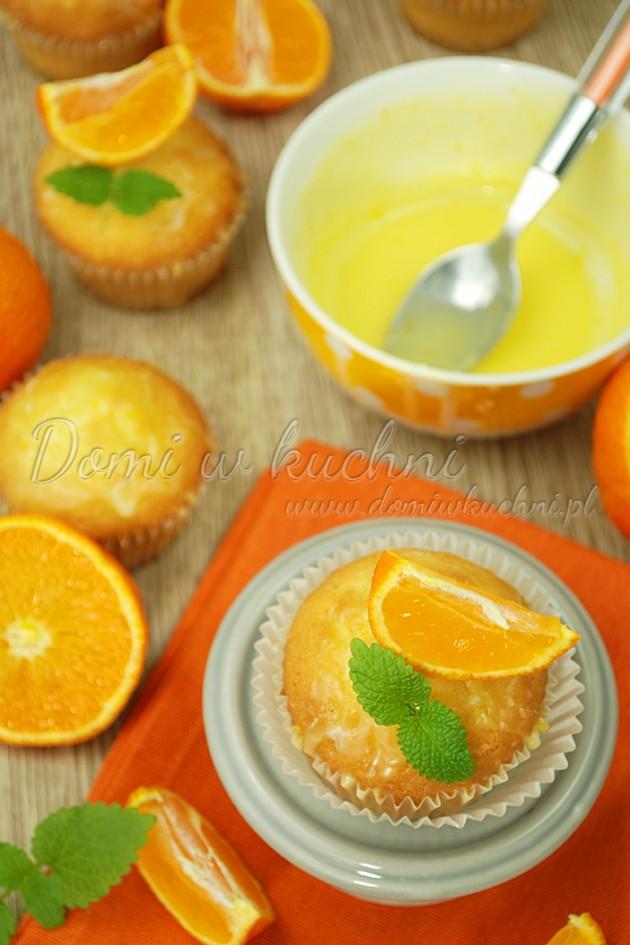Muffinki mandarynkowe