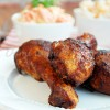 Smażone podudzia kurczaka
