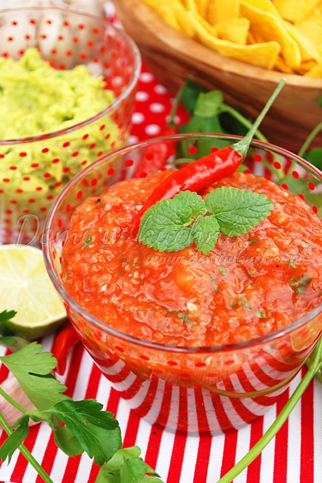 Sos salsa pomidorowa
