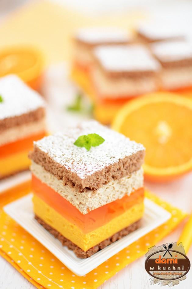 Ciasto pomarańczowo-kawowe
