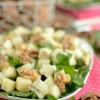 Sałatka z gorgonzolą i gruszką