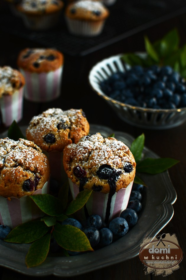 Muffiny z borówkami 2