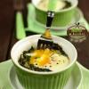 Jajka na szpinaku – w kokilkach