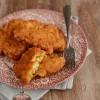 Placuszki z kurczaka z oscypkiem