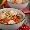 Tajska zupa z makaronem ryżowym