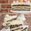 Tort makowo-kokosowy