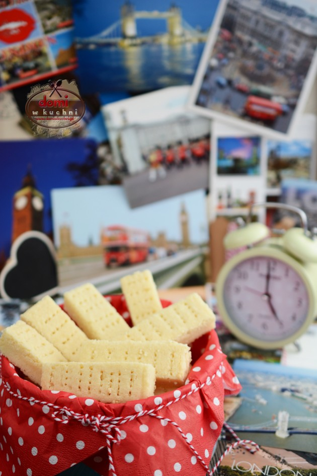 Shortbread – angielskie ciasteczka