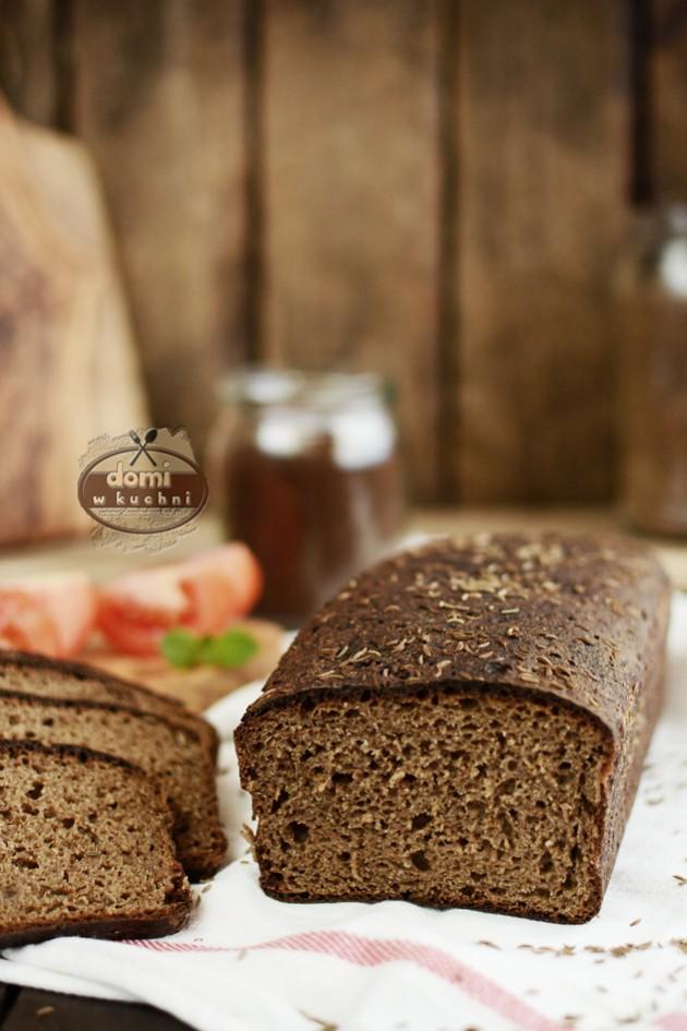Chleb litewski z kminkiem (na słodzie)