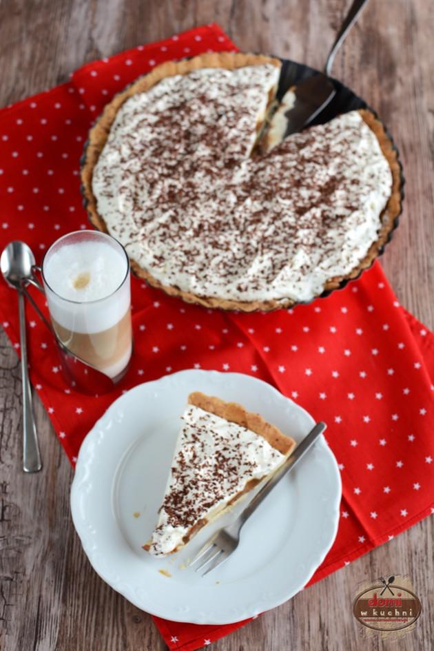Banoffee pie – tarta z toffi i bananami