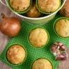 Muffiny ziołowe z szynką