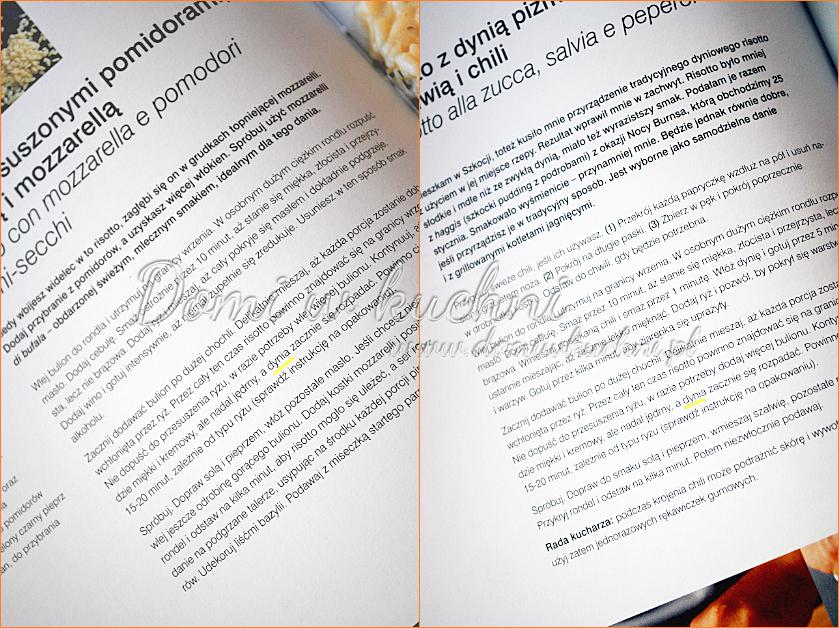 książka z makaronami
