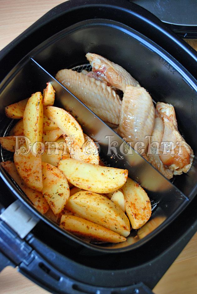 skrzydełka i ziemniaki AF