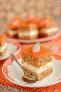 ciasto marchewkowe z polewą4